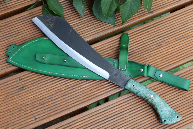 Parang machete green set