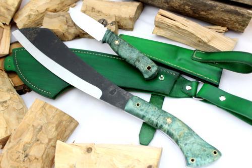 Parang Machete + Bear green set