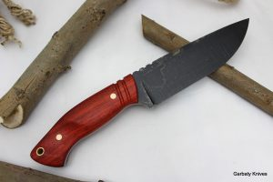 Camper Padouk nóż Garbaty Knives