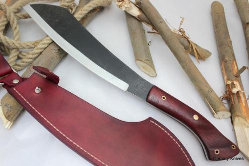 Parang Maczeta Garbaty Knives w Padouku