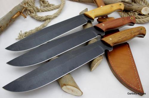 Krokodyl Garbaty Knives drewno Samba Kotibe Teak